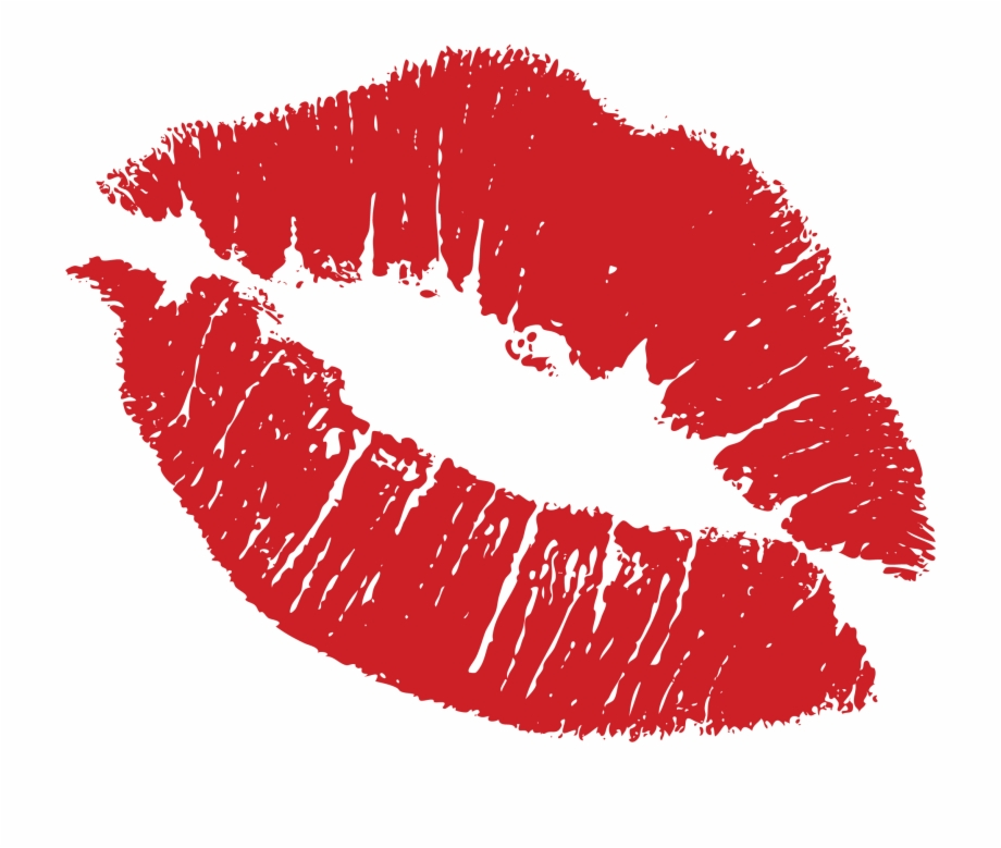 clipart black and white Clipart kiss. Transparent lips lipstick stain