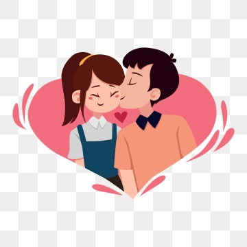 banner download Images png format clip. Clipart kiss