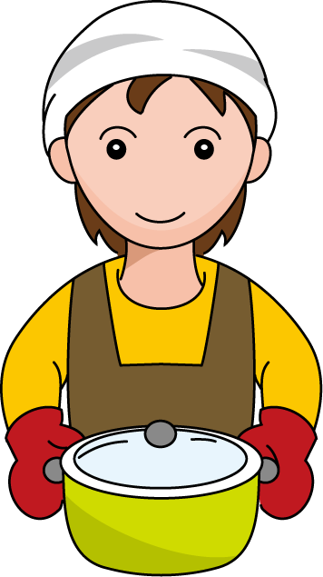 clip art freeuse stock Kitchen clipart man cooking