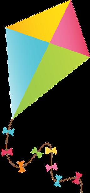 banner transparent stock Clipart kite. Brinquedos minus other pinterest