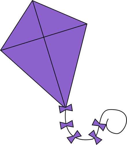 clipart freeuse Purple baby girl nursery. Clipart kite