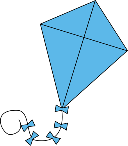 svg black and white stock Let s go fly. Clipart kite