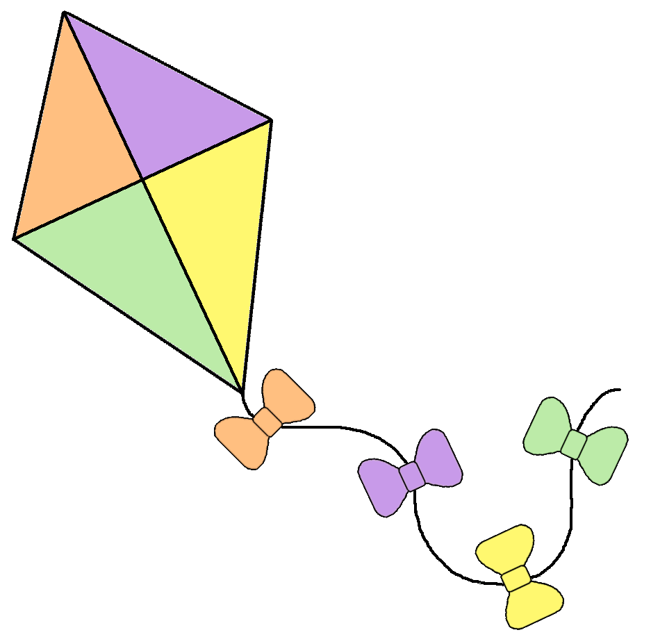 transparent library Fish . Kite clipart