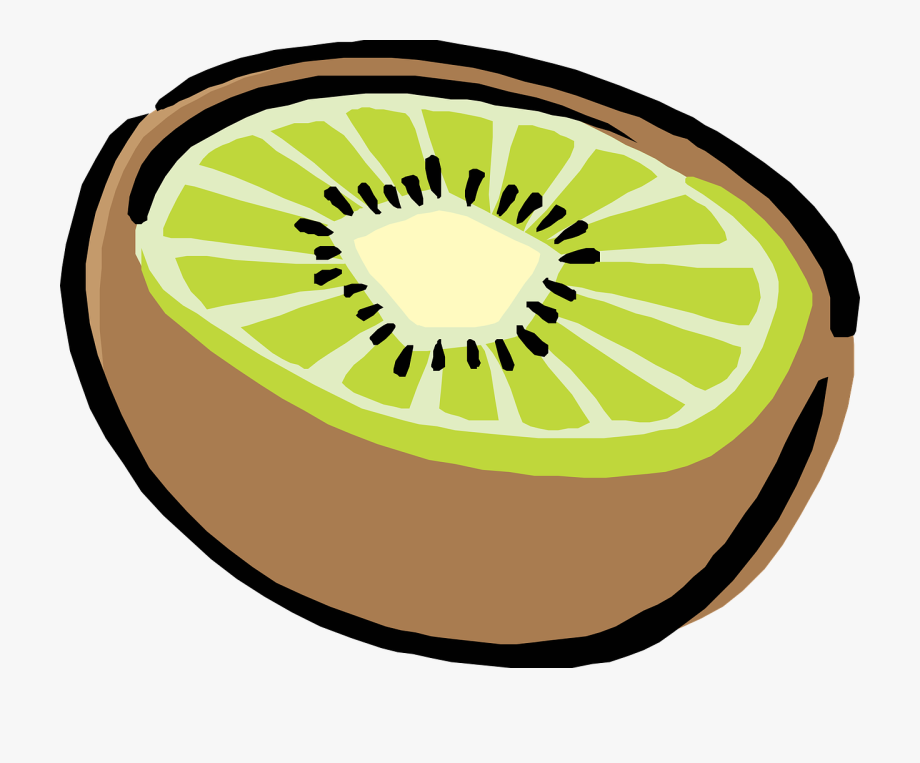 clip art transparent stock Fruit food half healthy. Clipart kiwi