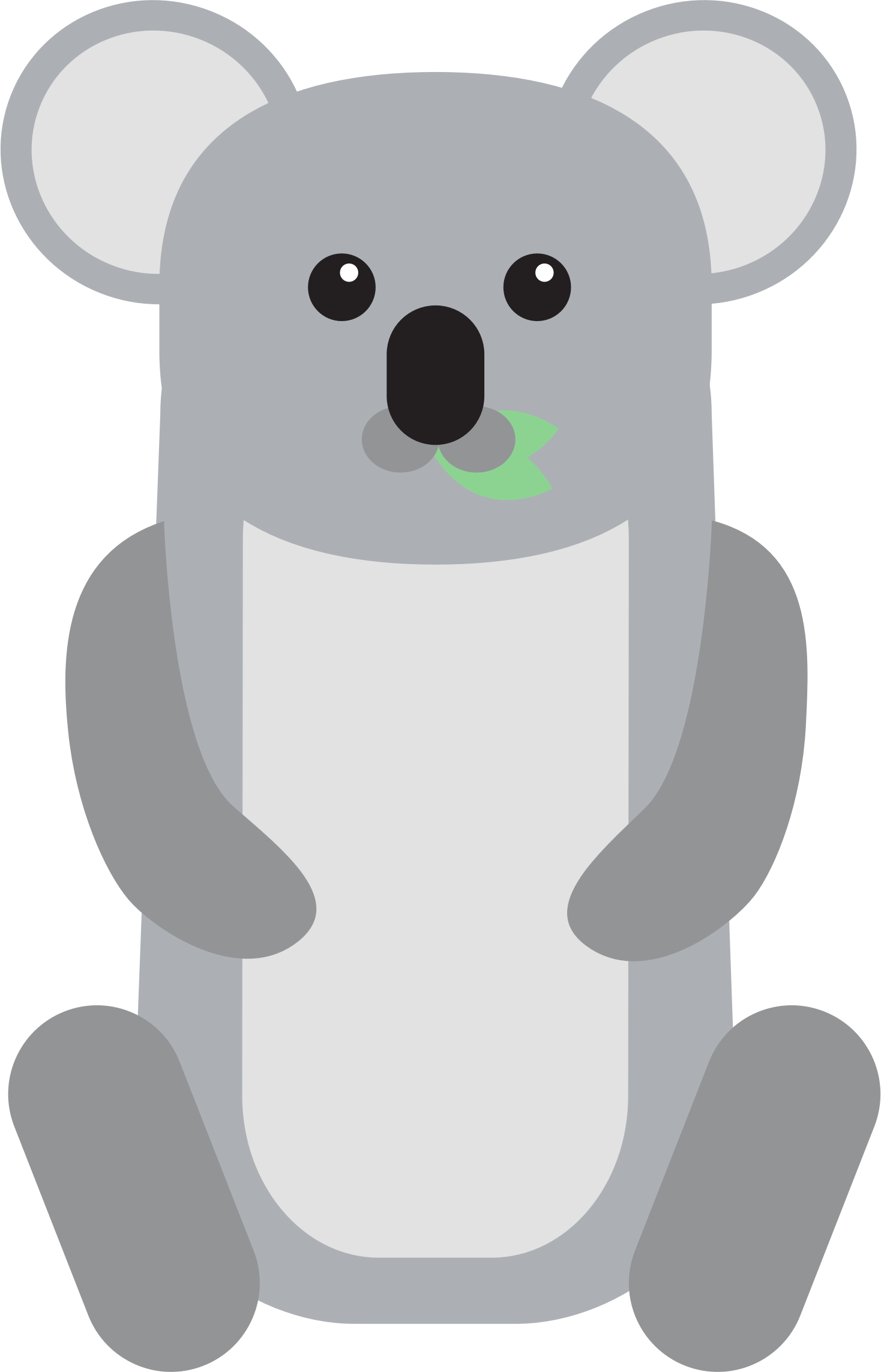 picture freeuse Clipart koala. Baby big image png