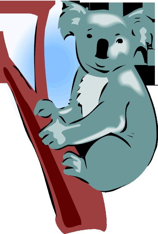 clipart royalty free library Clipart koala. Free