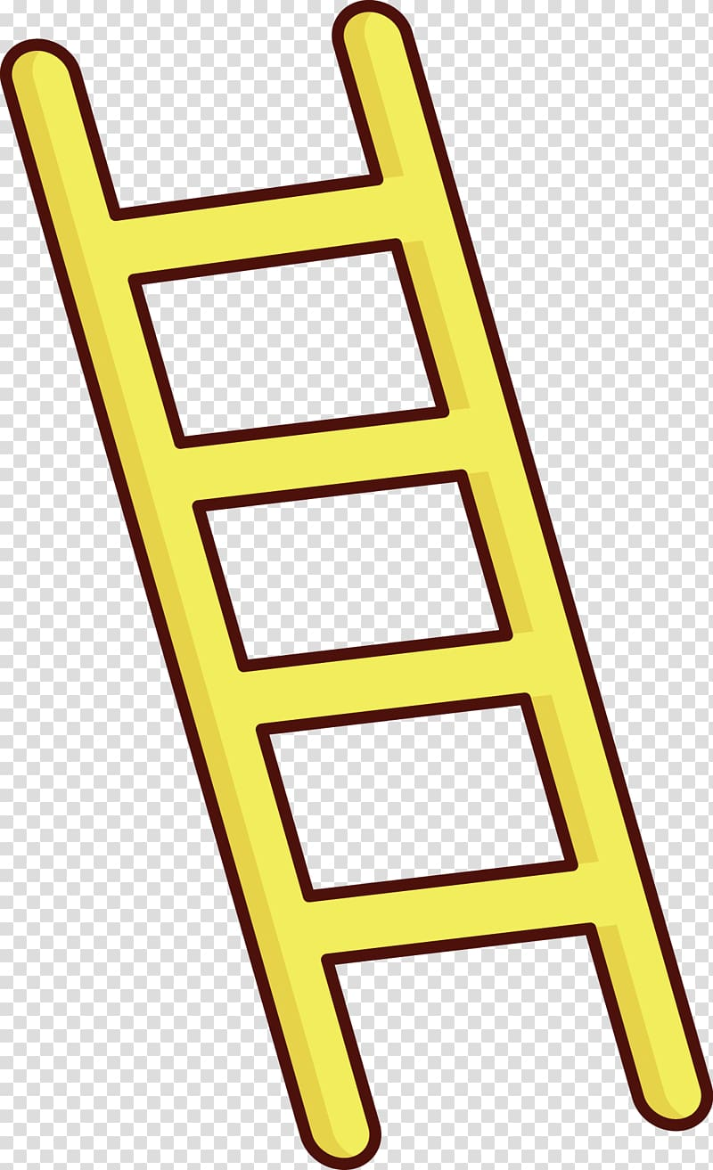 vector Stairs a transparent background. Clipart ladder.
