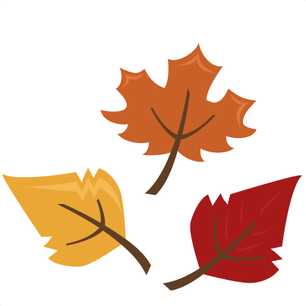 graphic free download Cute Fall Leaves Clipart