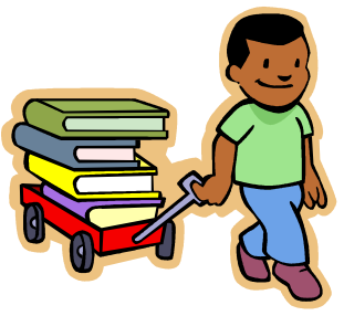 png free stock Free picture of child. Librarian clipart messenger.