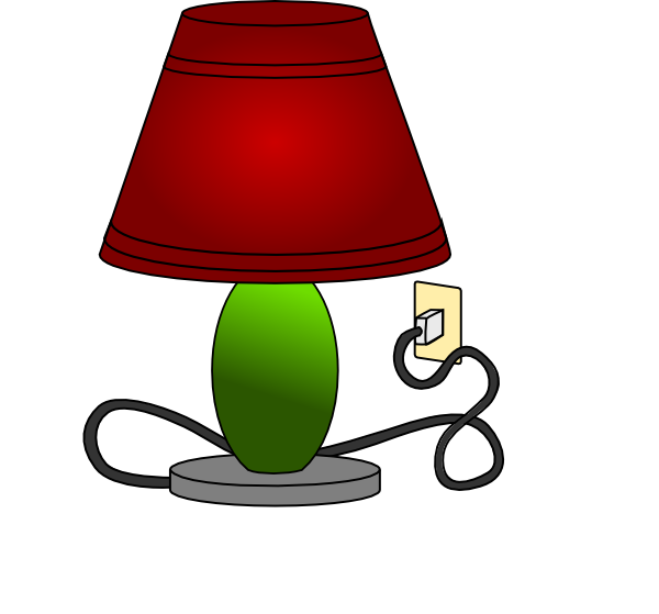 clipart freeuse download Lamp Table