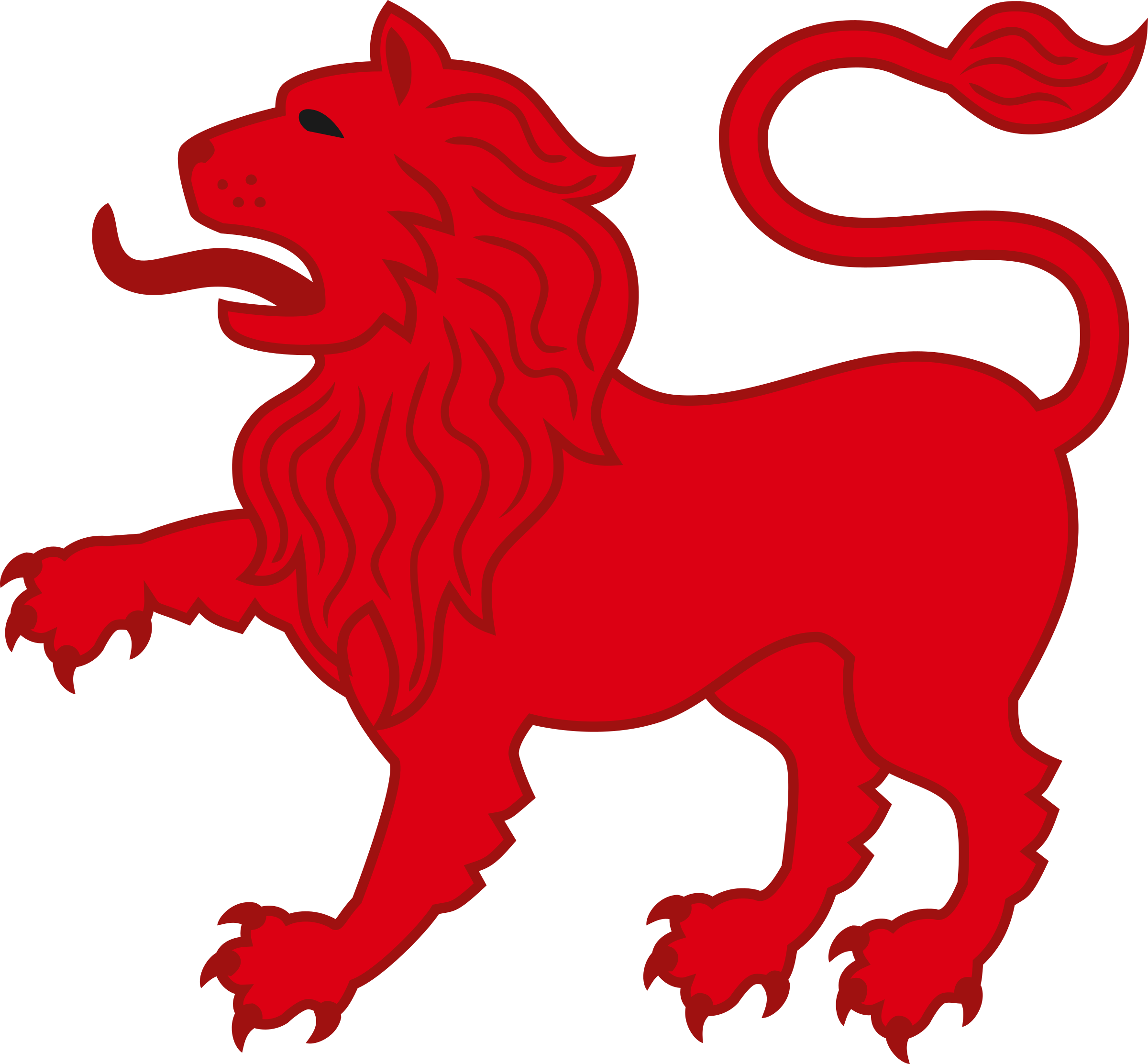 clip art royalty free library Lions clipart monarch. Lion red frames illustrations