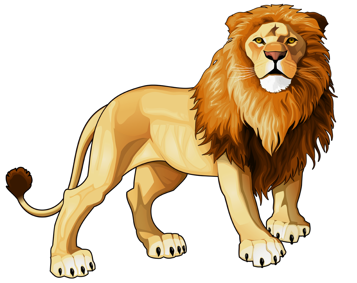 svg black and white stock Lion clipart. Frames illustrations hd images.