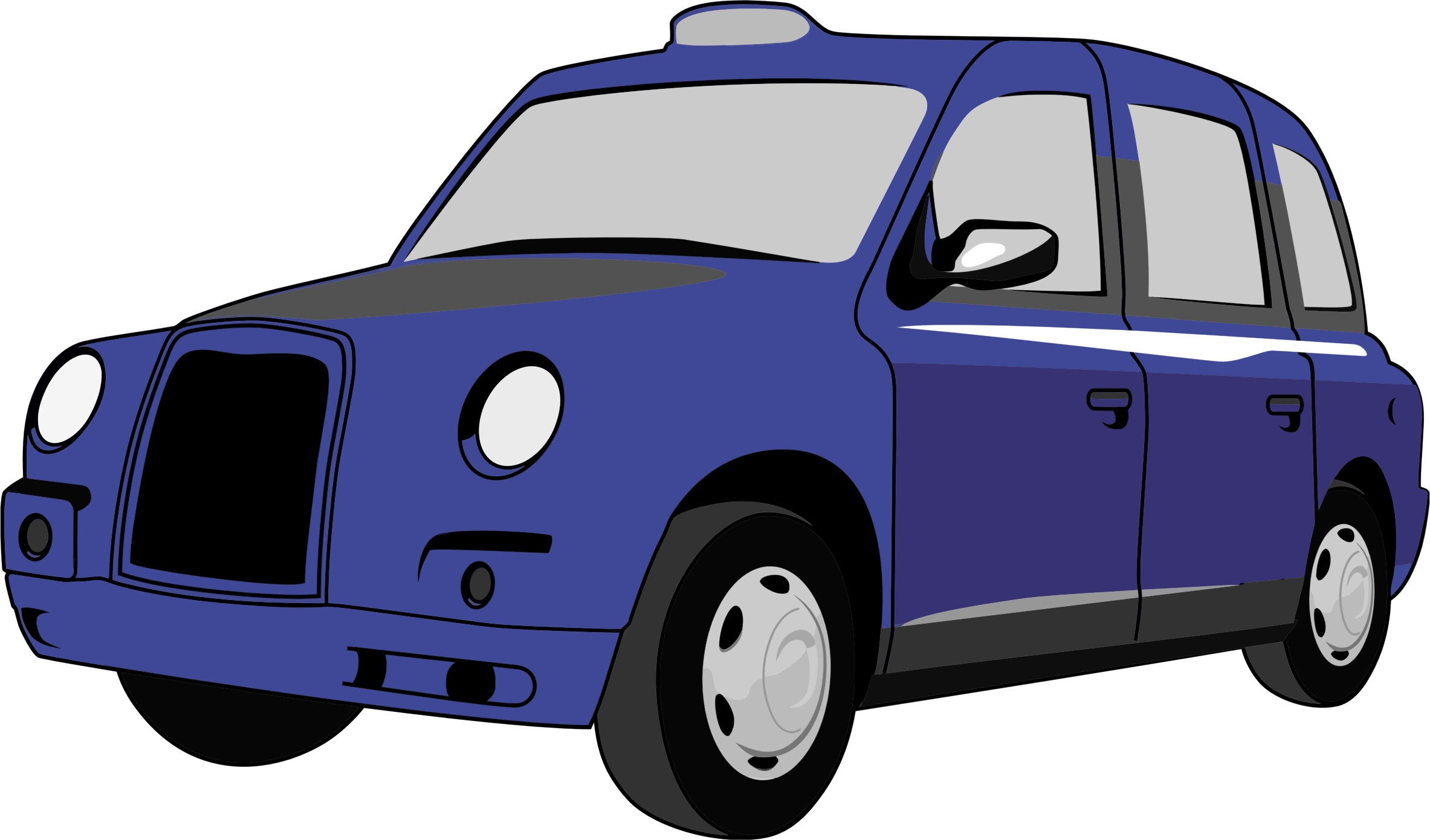 svg royalty free stock London Taxi PNG Clipart