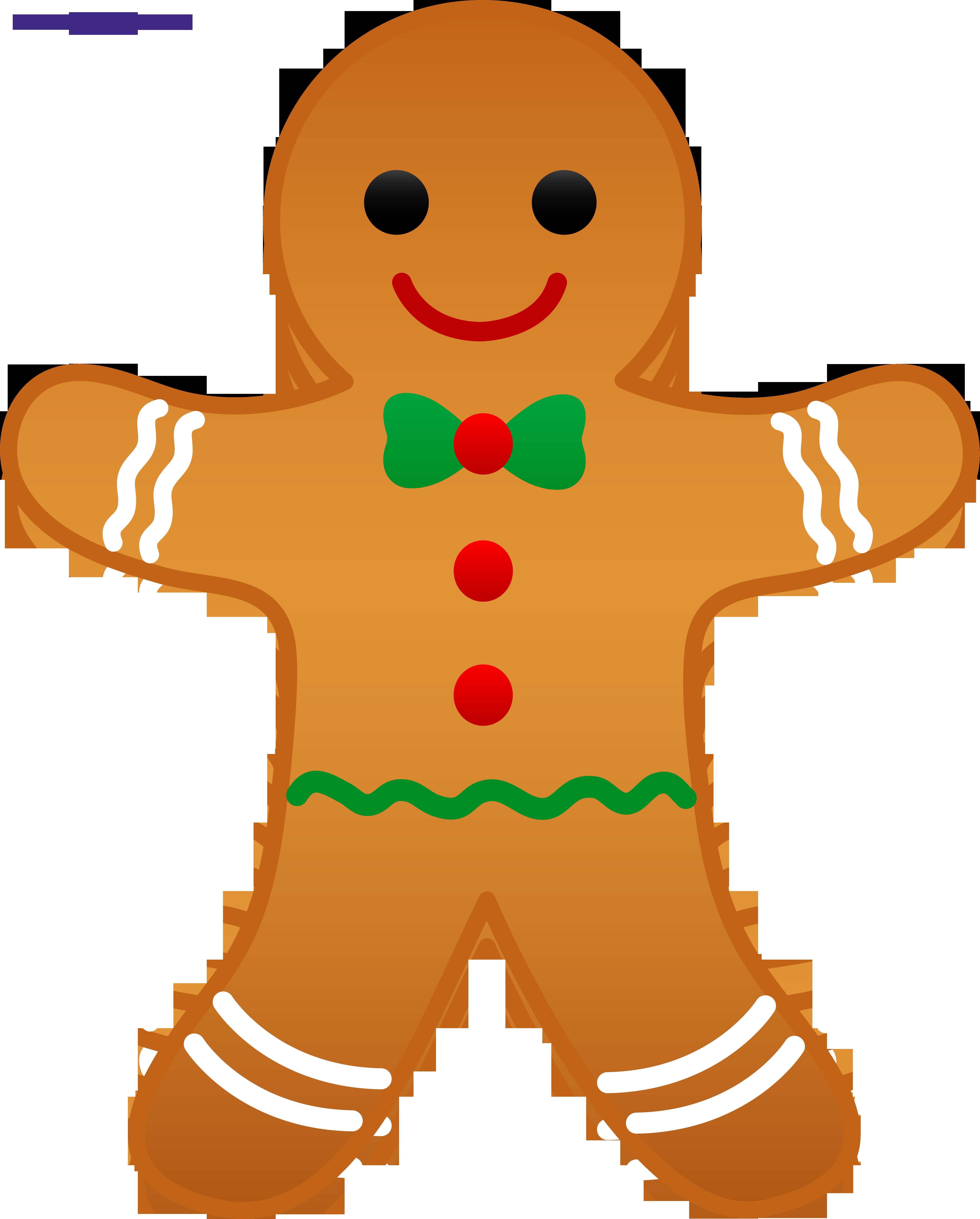 clip free download Gingerbread clipart. Man sweet clip art.