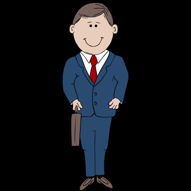 clip stock In suit clip art. Man clipart