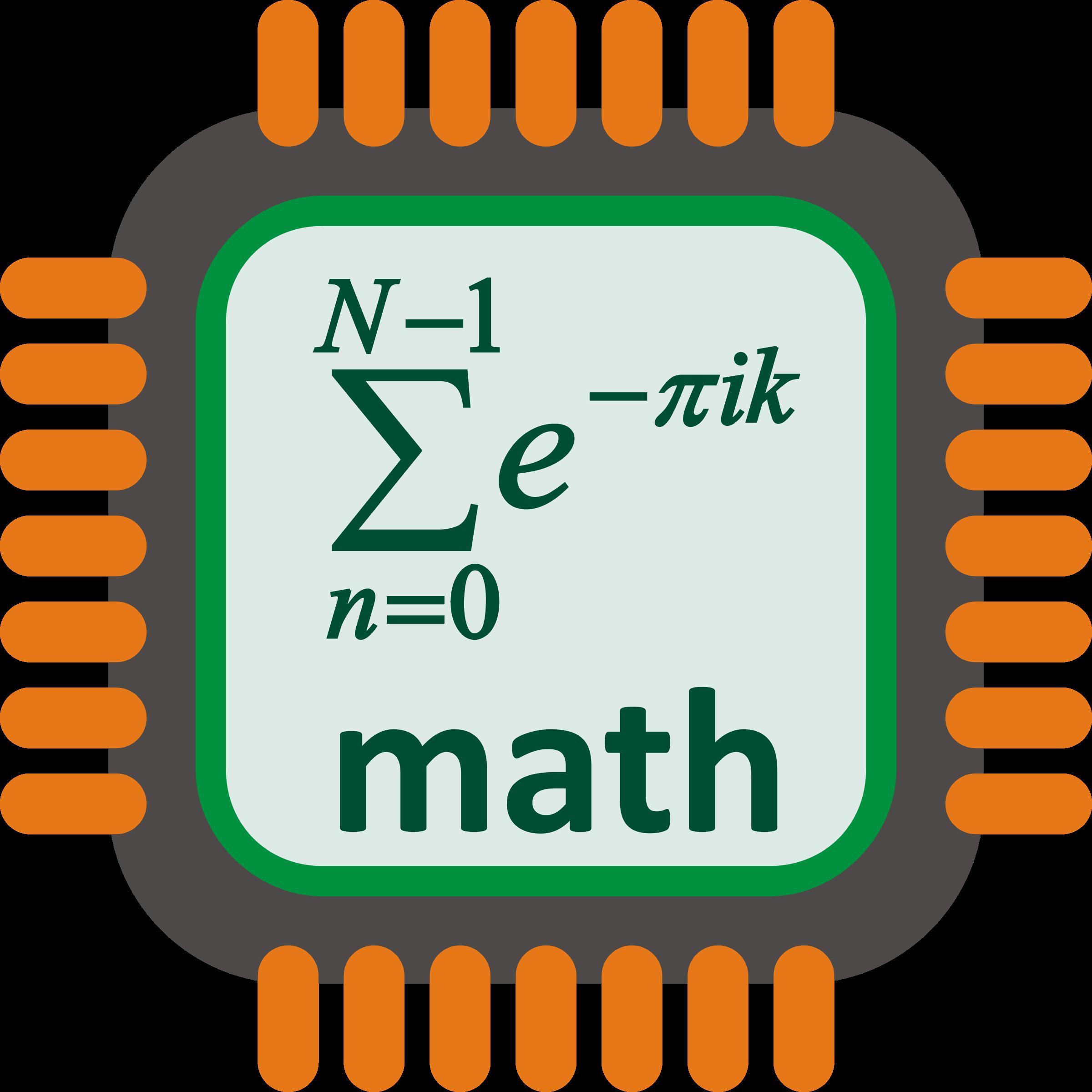 png stock Math processor big image. Multiplication clipart mathematics wallpaper.
