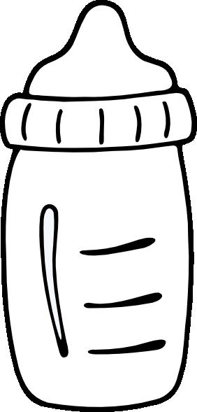 image stock Milk black and white clipart. Bottle clip art at