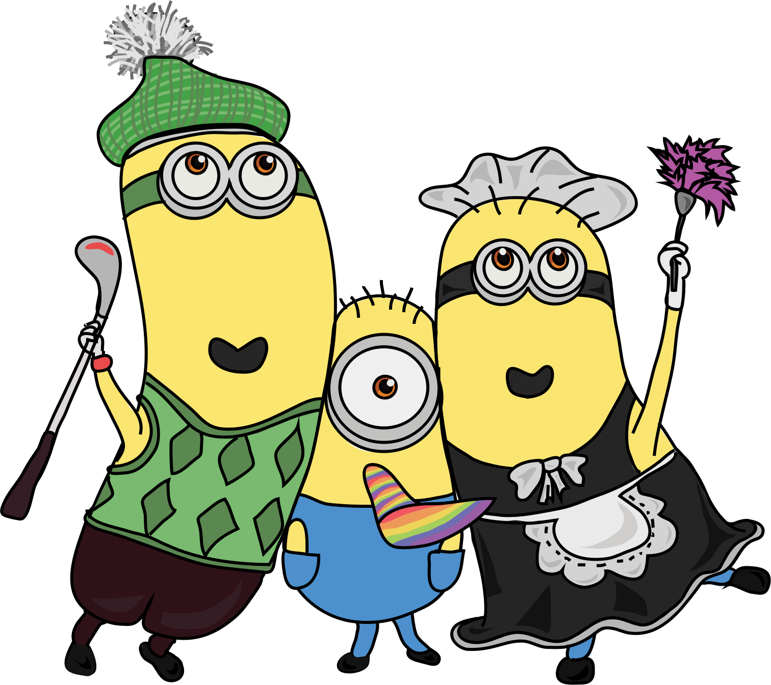 banner freeuse download Clipart minions. Big image png.