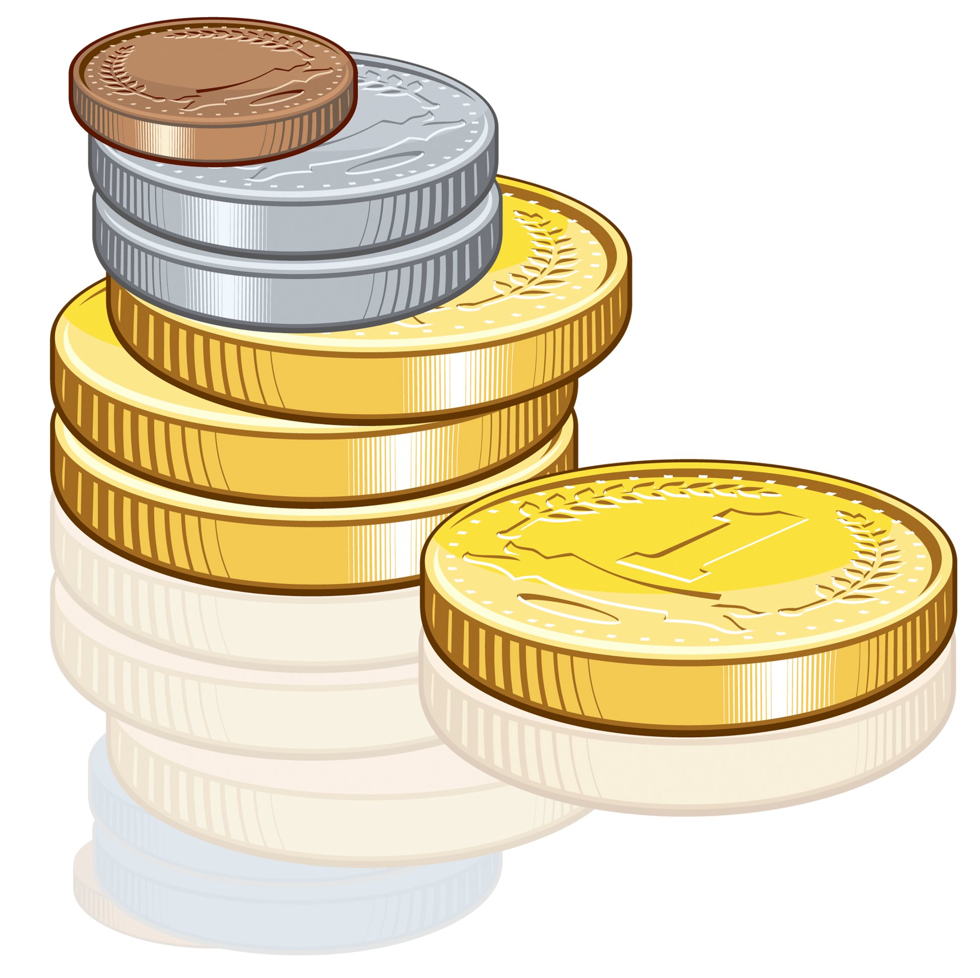 picture transparent stock Coins PNG Clipart