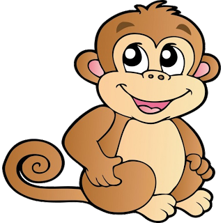 clip transparent library Free monkey clip art. Monkeys clipart