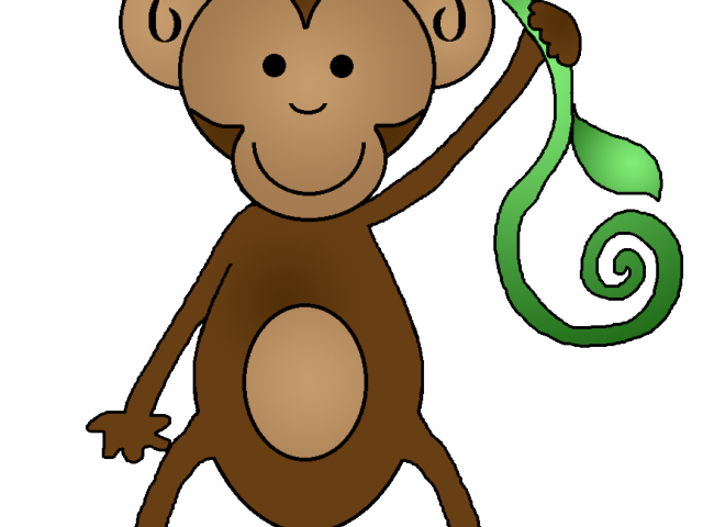 clip transparent library Spider monkey free on. Monkeys clipart baboon.