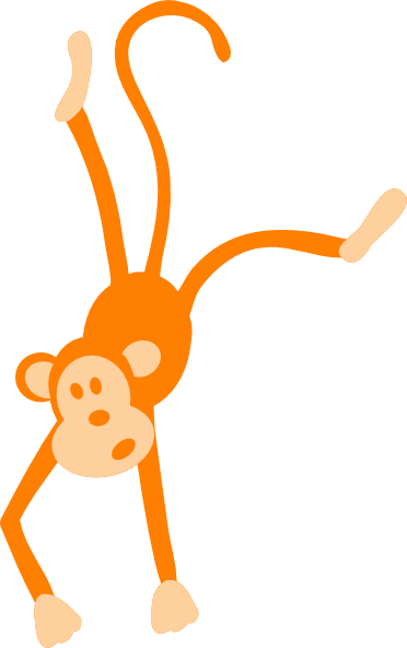 image freeuse library Monkey in a panda. Ape clipart tree.