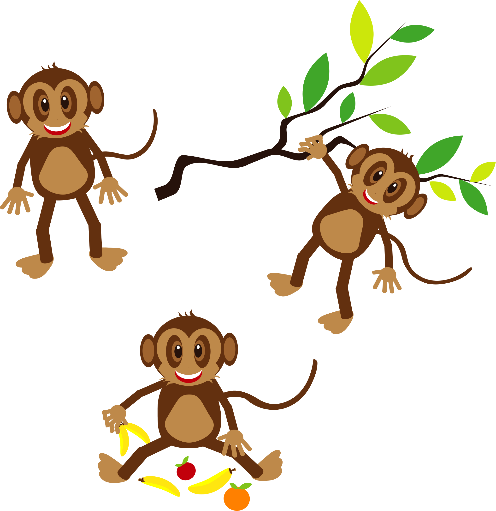 jpg free Monkey silhouette clip art. Monkeys clipart