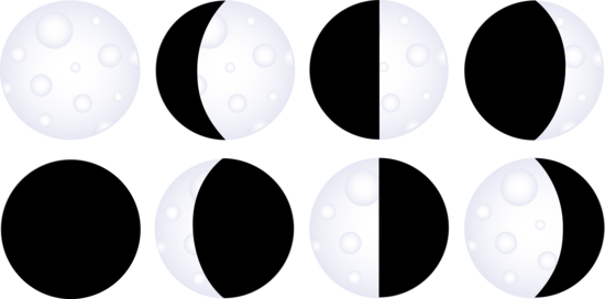 royalty free download Eclipse last quarter pencil. Clipart moon black and white