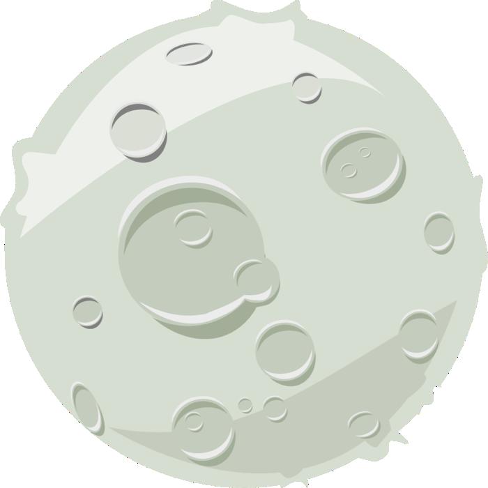 clip download Graphics of moons lunar. Moon clipart
