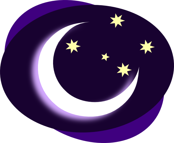 image free download No Background Moon Clip Art at Clker