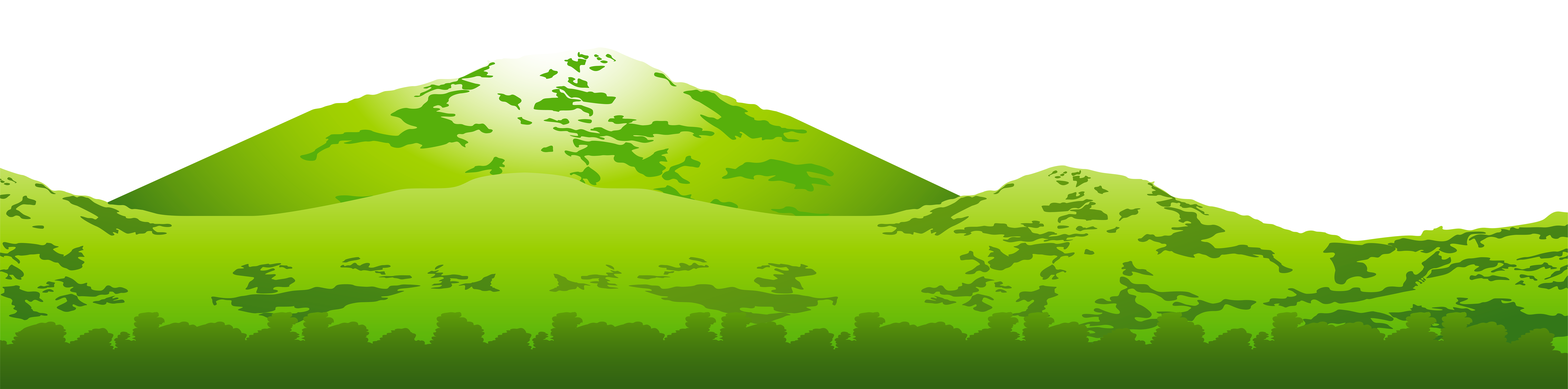 jpg download Green mountain transparent png. Ground clipart moutains