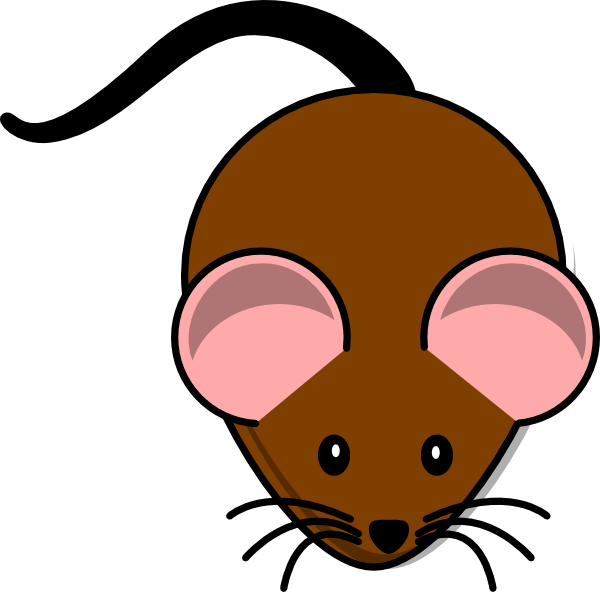 jpg freeuse library Simple cartoon clip art. Lazy clipart mouse.