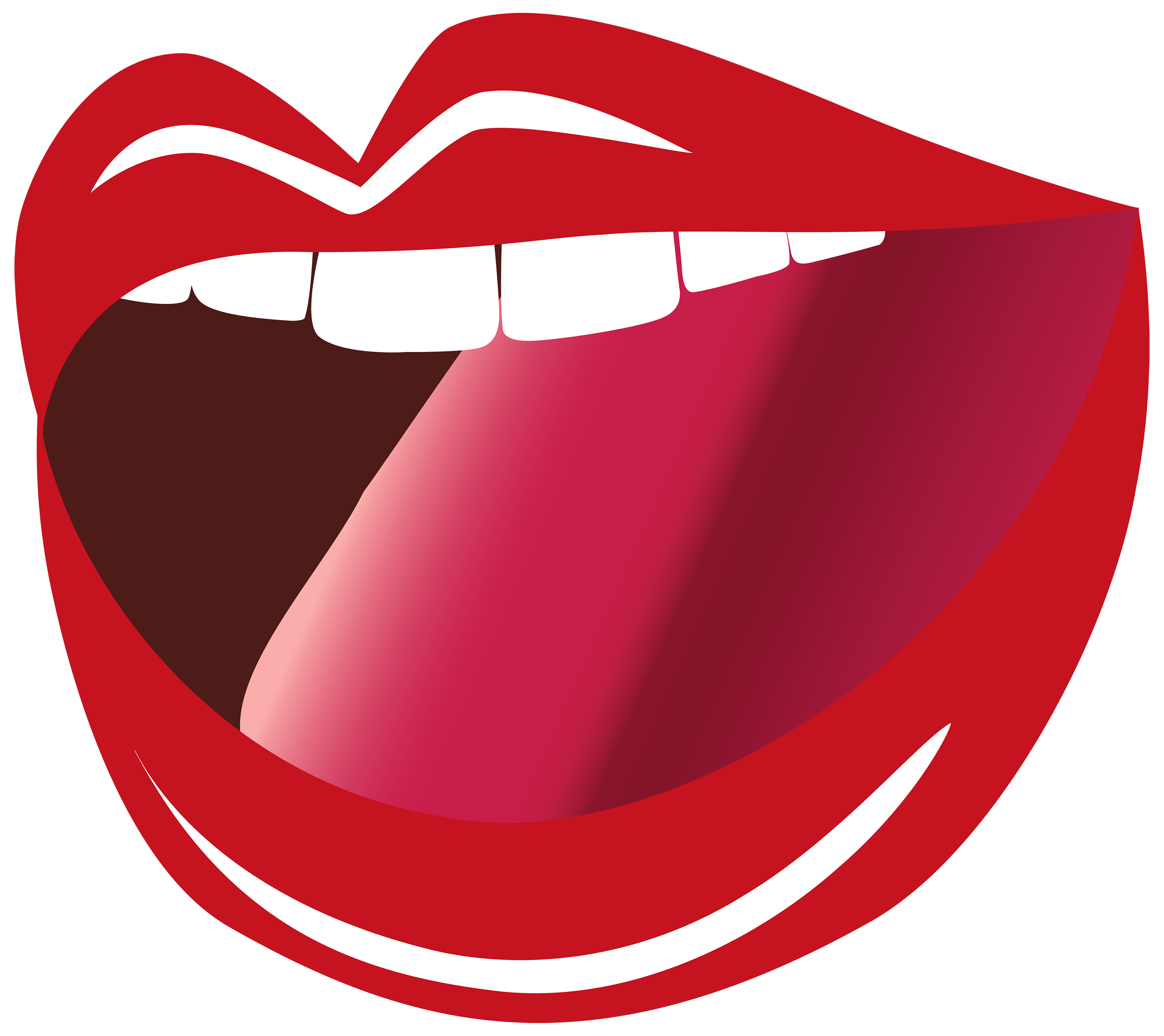 graphic royalty free download Mouth clipart lip closed. Open png image best.