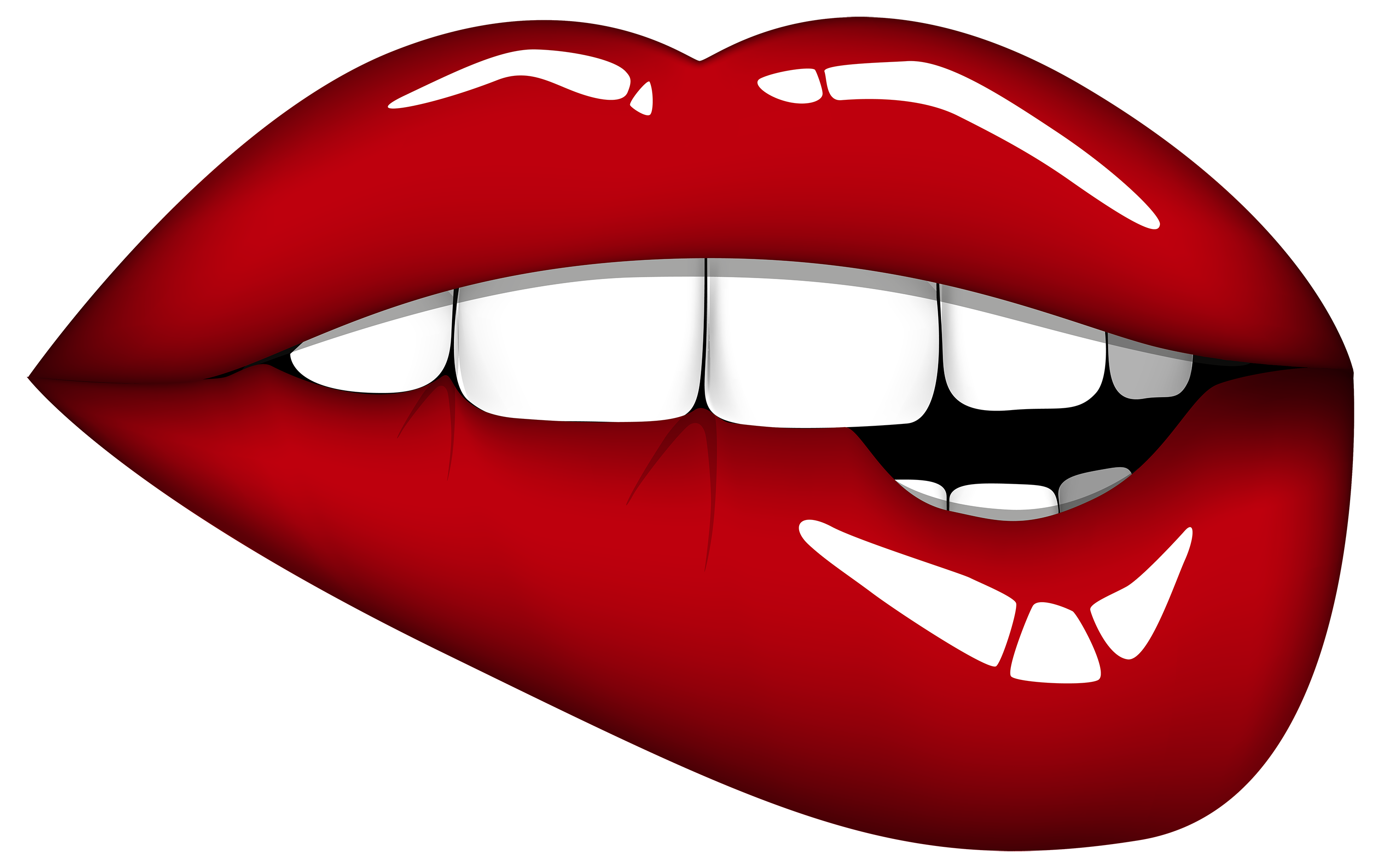 clip art free download Red Mouth PNG Clipart Image