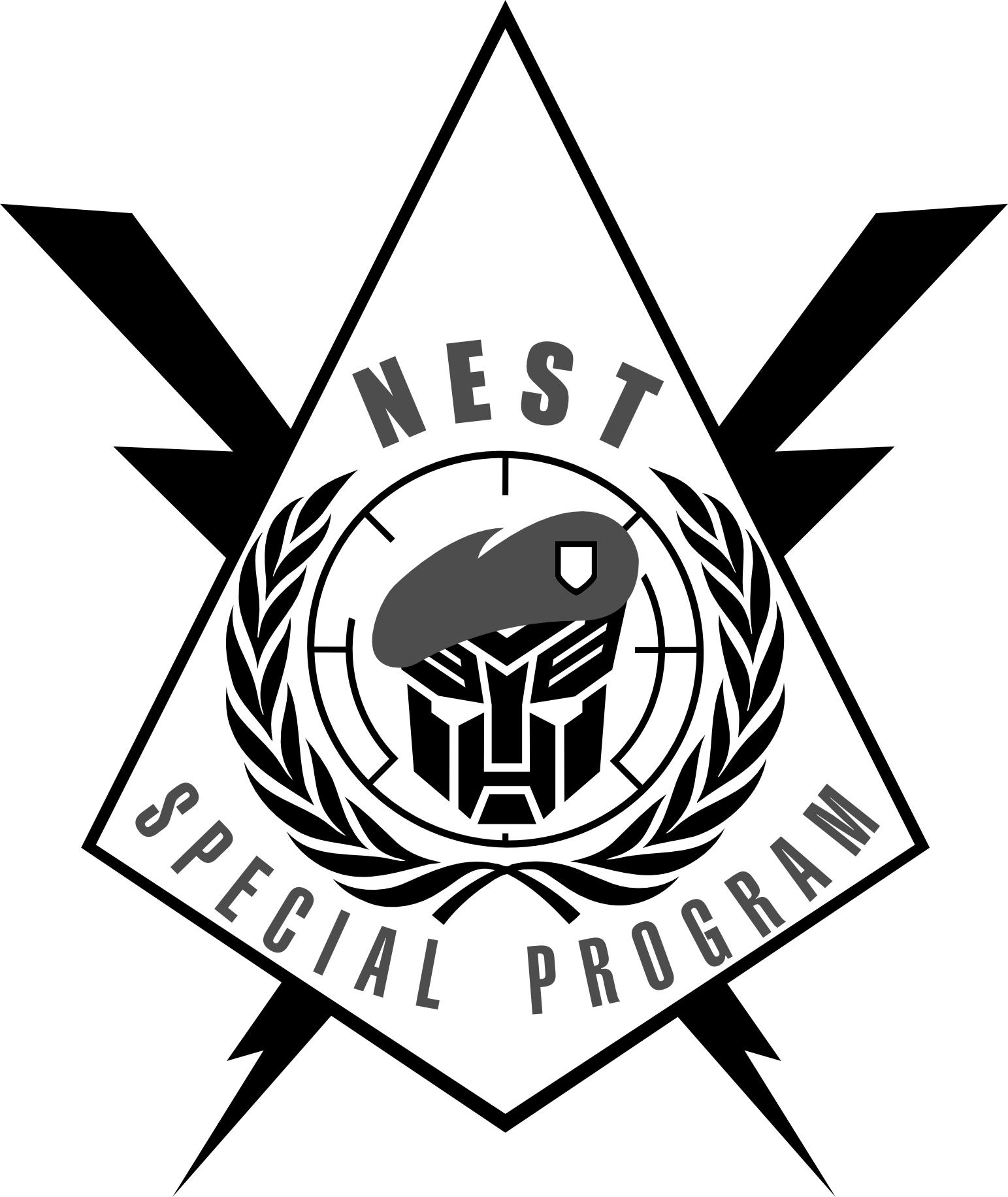 clipart free stock Clipart nest black and white.  d artwork free