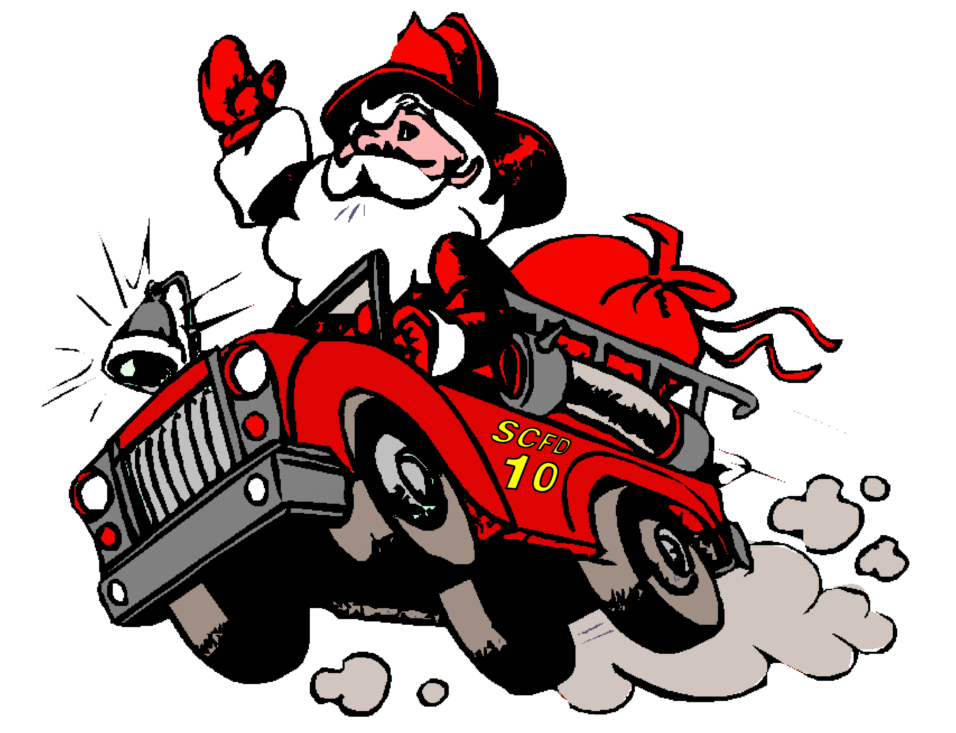 picture free download Fire engine clipart black and white. Firefighter prevention frames illustrations