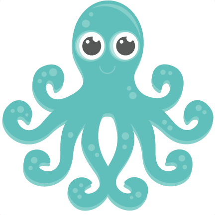 graphic stock Free octopus download clip. Sea animal clipart
