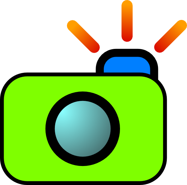 clip freeuse Clipart of a camera. Clip art at clker