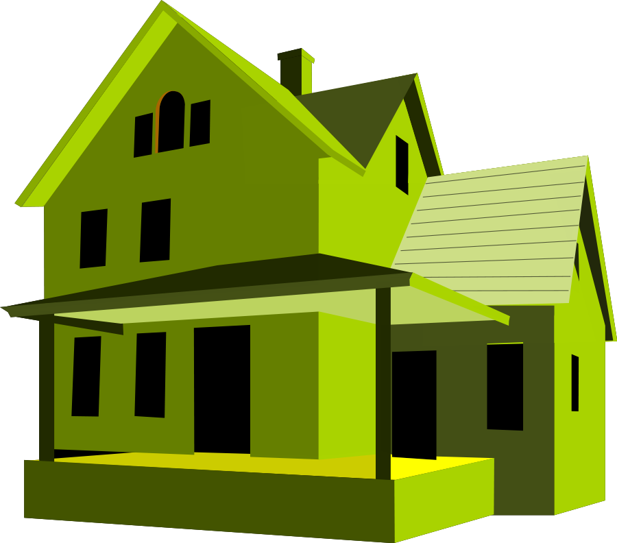 graphic royalty free download Cool Houses Clipart