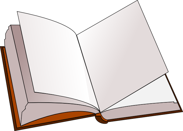 png download Open Book Clip Art at Clker