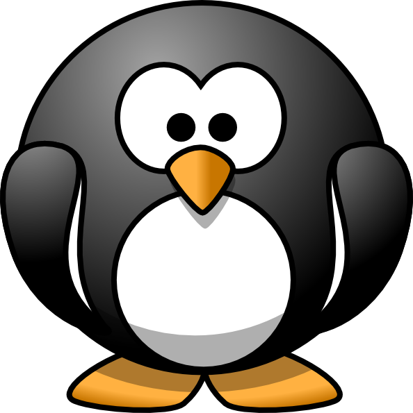 clip freeuse library One of the cutest. Vector penguin artistic