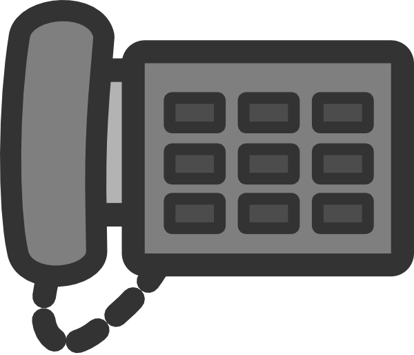 clipart royalty free Office Phone