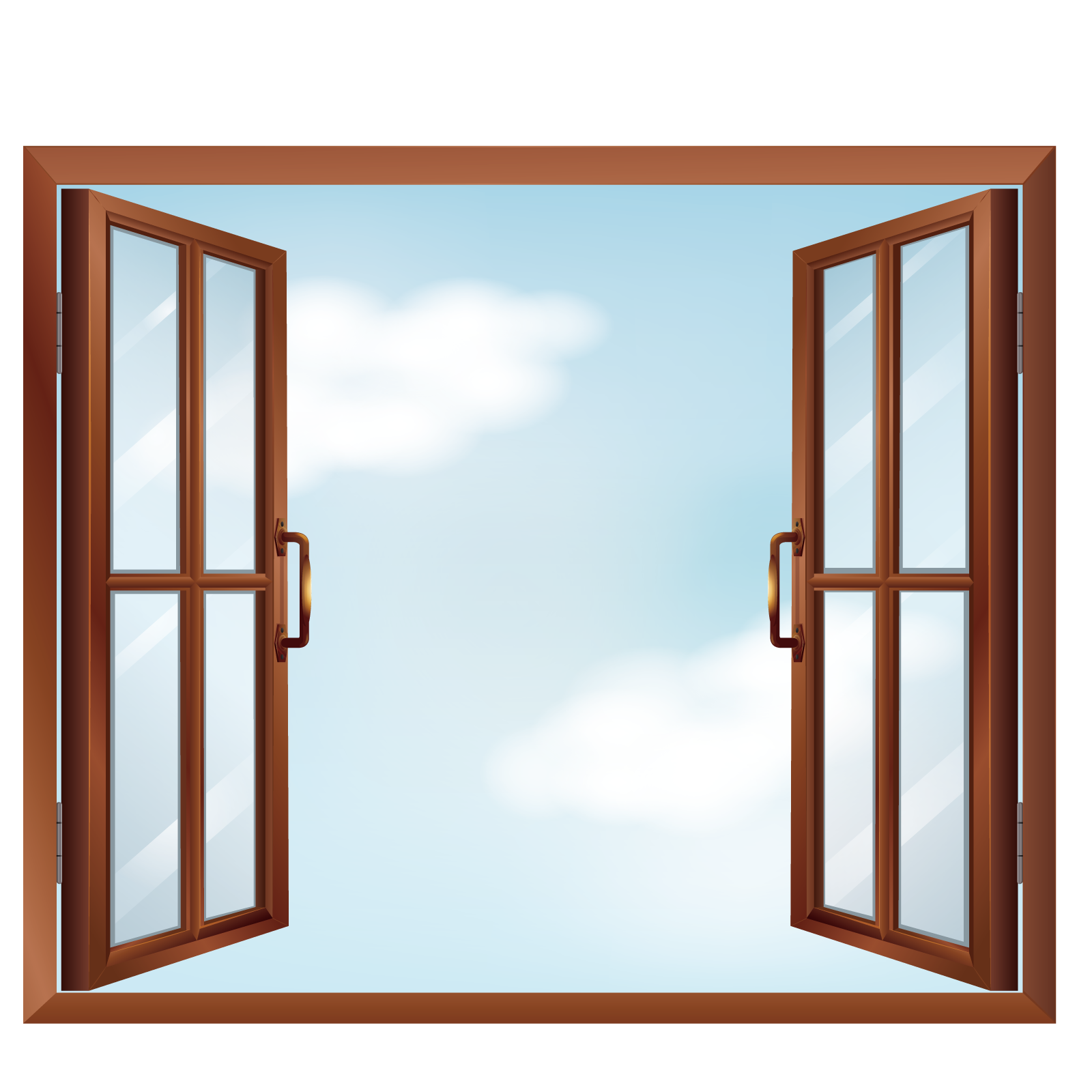 picture royalty free stock Art vector open windows. Window clip