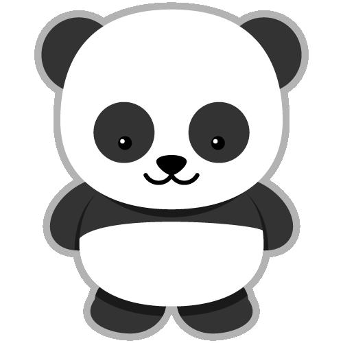 freeuse stock Clipart panda