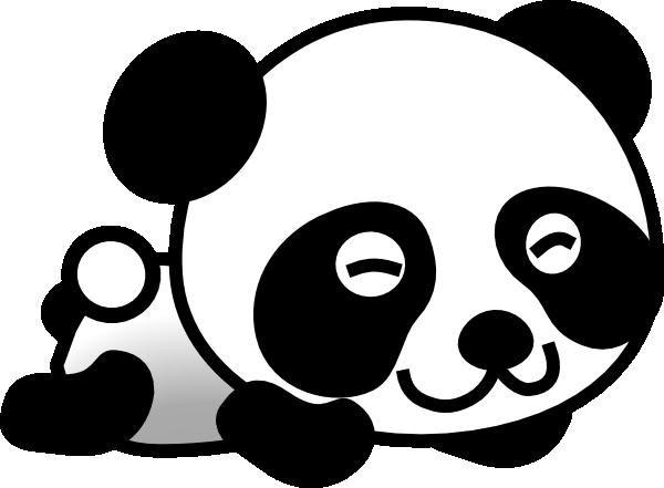 vector library library Clip art vector free. Panda clipart.