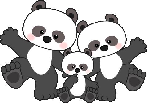 library Clipart Panda Nice Looking