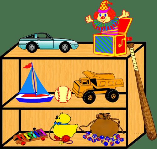 image freeuse Toy Shelf