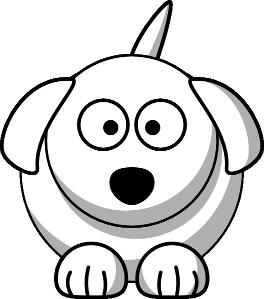 clipart Face cute clip art. Dog clipart black and white.