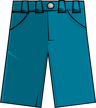 freeuse library Free . Pants clipart.