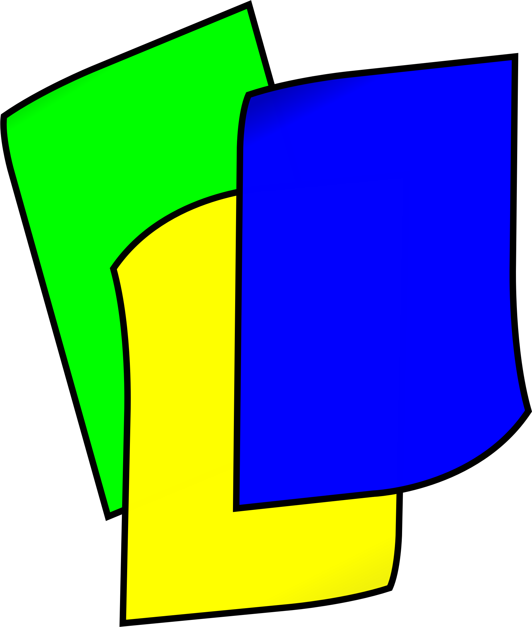 png free stock Stack of colored big. Construction paper clipart.